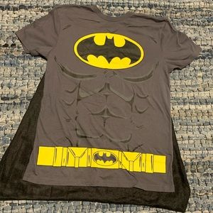 Batman shirt with cape! Perfect for costume party!